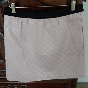 Loft pink skirt